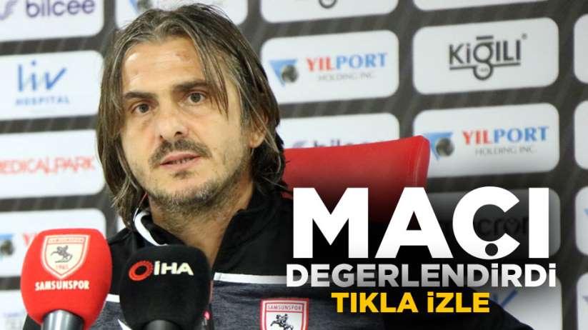 Recep Samet Boyer Samsunspor Hacettepe maçını değerlendirdi.