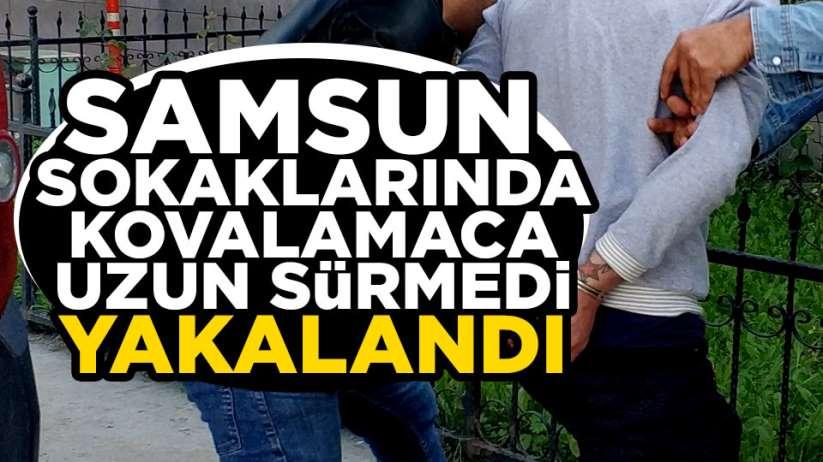 Samsun'da aranması olan şahıs yakalandı