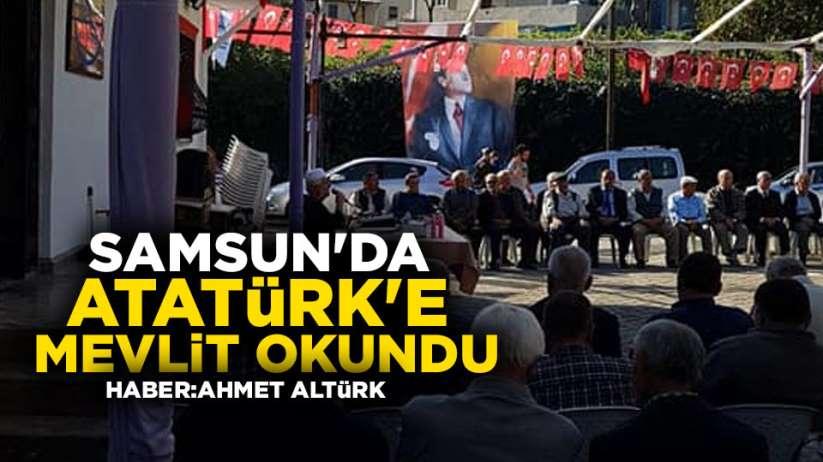 Samsun'da Atatürk'e mevlit okundu