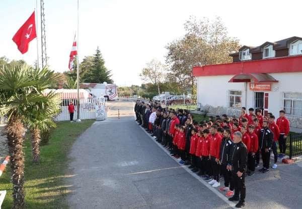 Samsunspor Atatürk'ü andı