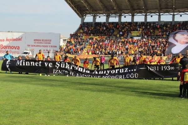 Süper Lig: Göztepe: 1 - Yeni Malatyaspor: 0 (İlk Yarı)