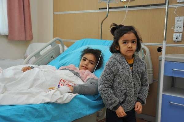 Tel Abyad'da 2 kardeş mayın patlaması sonucu ağır yaralandı