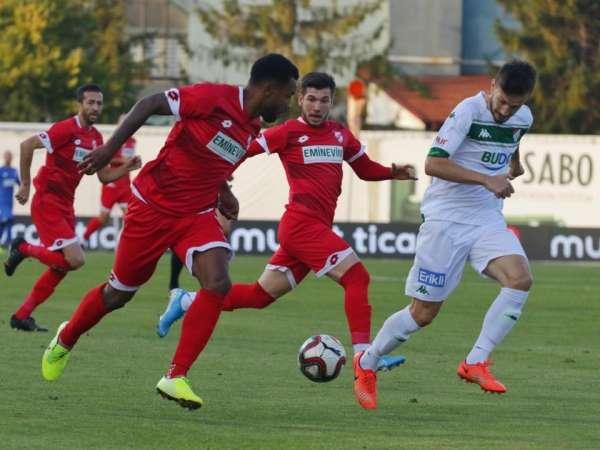 TFF 1. Lig: Boluspor: 1 - Bursaspor: 1