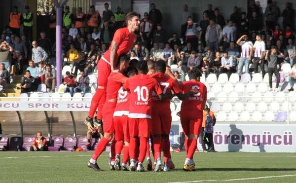 TFF 1. Lig: Keçiörengücü: 2 - Adanaspor: 0