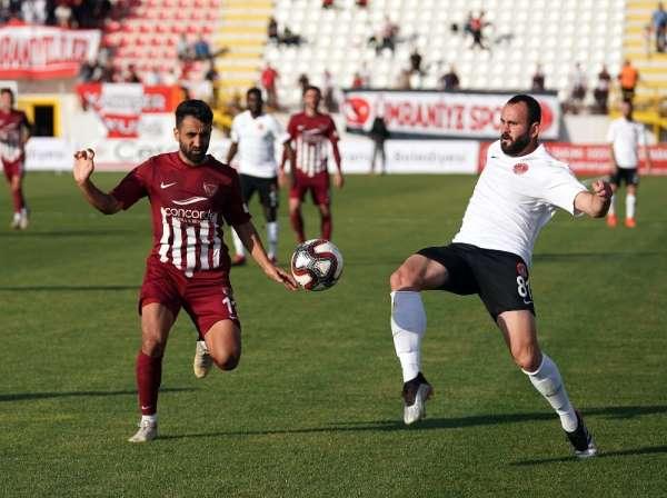 TFF 1. Lig: Ümraniyespor: 0 - Hatayspor: 0