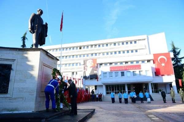 Trabzon'da 10 Kasım Atatürk'ü Anma Etkinlikleri