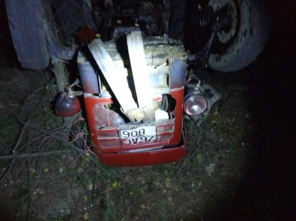 Traktörün altında kalan sürücünün feci ölümü