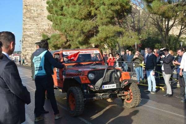 Türkiye Off-Road Şampiyonasının Serenomik açılışı gerçekleşti