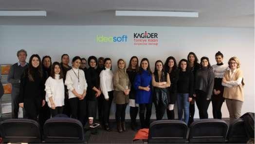 Ideasoft KAGİDER ile kadın girişimcilere yönelik e-ticaret eğitimi gerçekleştir