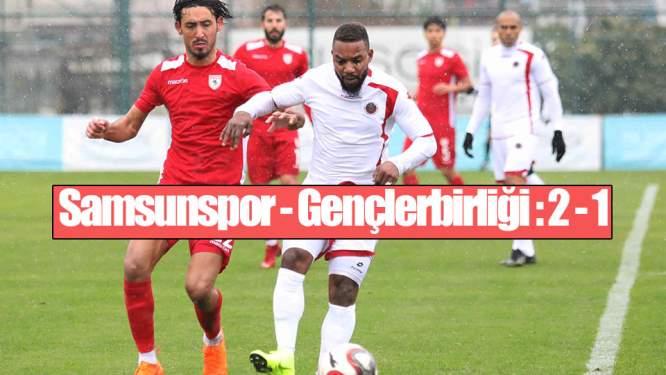 Samsunspor Hazırlık Maçında Kazandı