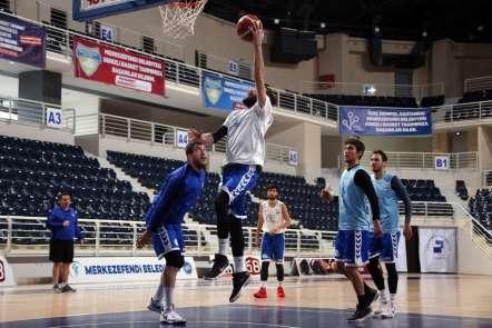 Denizli Basket Samsun Anakent maçı hazırlıklarını sürdürüyor