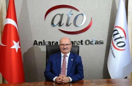ATO Başkanı Baran: 'KOBİ'lerin desteklenmesi ekonominin kan dolaşımını hızlandır