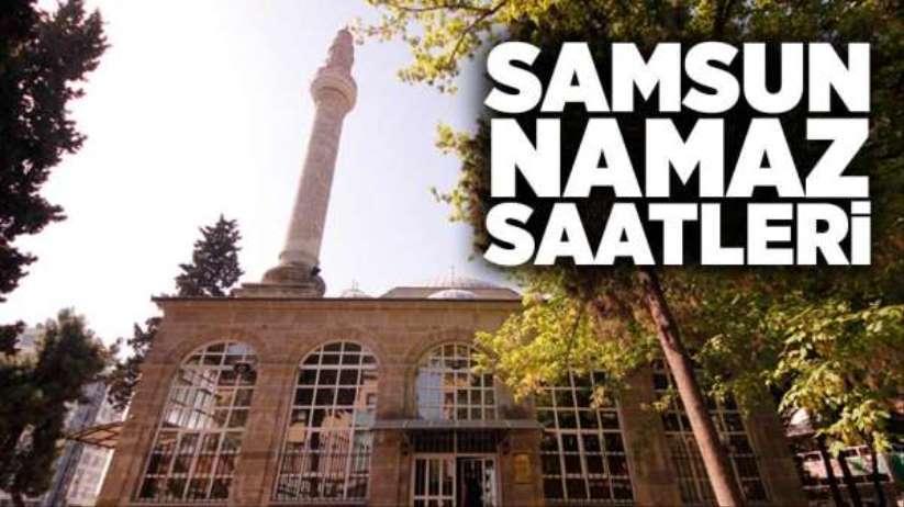 10 Aralık Salı Samsun'da namaz saatleri