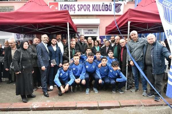 Başkan Köse: 'Sporda model alınan bir ilçeyiz'