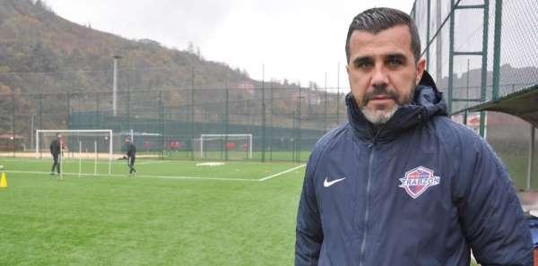 Hekimoğlu Trabzon FK Teknik Direktörü Avcı: 'Oyuncularımızın iştahı beni mutlu e