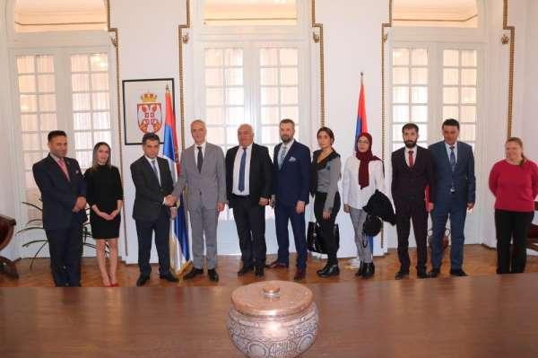 SANKON, Sırbistan ile ekonomik ile birliğini arttırmak için harekete geçti