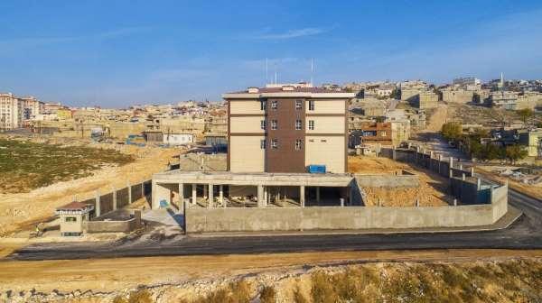 Şehit Ersan Günqınar Polis Merkezi'nin inşaatı devam ediyor