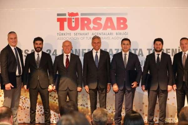 TÜRSAB'ta mazbata töreni