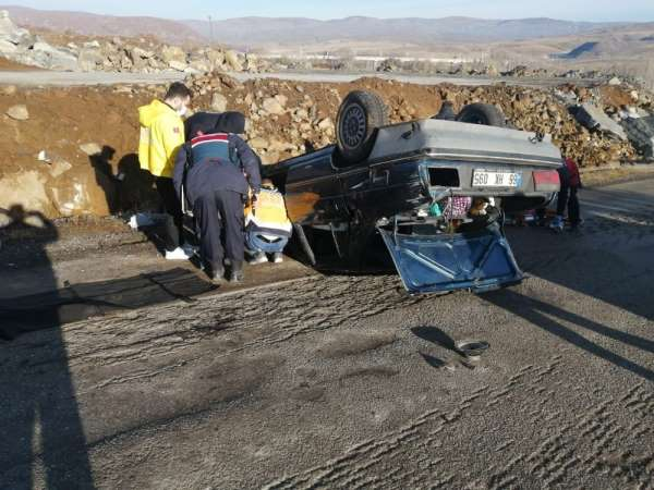 Yozgat'ta trafik kazası: 1 öğretmen öldü, iki öğretmen yaralı