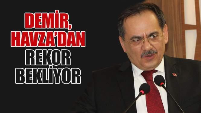 Mustafa Demir Havza'dan rekor bekliyor!