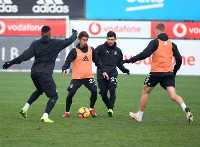 Beşiktaş'ta Yeni Malatyaspor hazırlıkları başladı