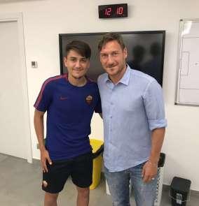 Cengiz Ünder: 'Totti ile oynamak isterdim'
