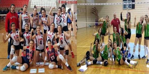 Aydın'ın şampiyonları Türkiye yarı finallerinde