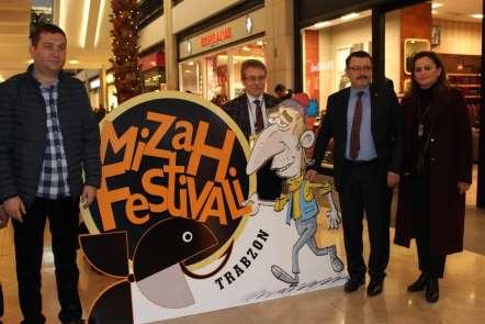 Trabzon'da 1. Mizah Festivali gerçekleştirildi