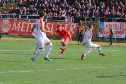 TFF 3. Lig: Körfez Spor: 0 - Nevşehir Belediyespor: 4