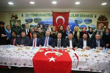 AK Parti Zeytinburnu Adayı Arısoy'a Giresunlular ve Mardinlilerden tam destek
