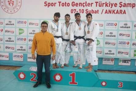 Spor Toto Türkiye Gençler Judo Şampiyonası sona erdi
