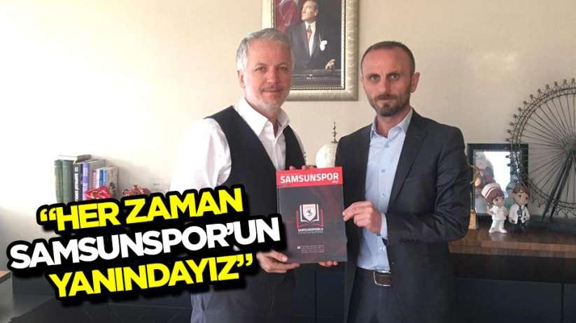 SAMSUNSPORLU EĞİTİMCİLERDEN ÖZCAN'A ZİYARET