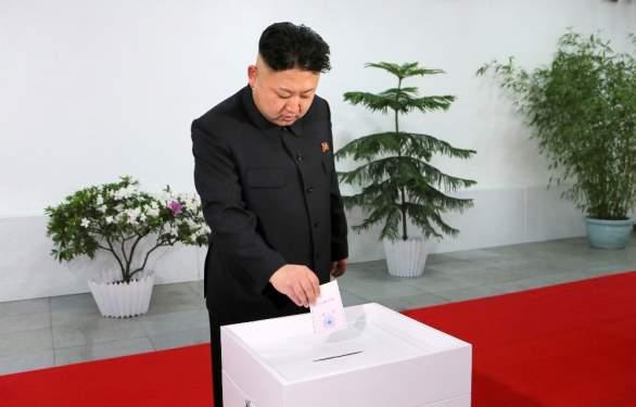 Kuzey Korede tek kazananın olduğu parlamento seçimleri