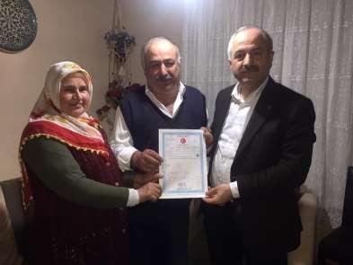 Gebze'de 35 yıldır yaşanan tapu problemi çözüldü