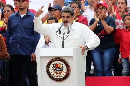 Maduro'dan Venezuela ordusuna teşekkür