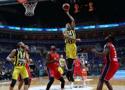 Tahincioğlu Basketbol Süper Ligi: Fenerbahçe Beko: 90 - Bahçeşehir Koleji: 73