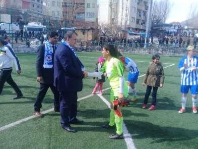 TFF Kadınlar 1. Ligi: Hakkarigücü: 4 - 1 Fatih Vatanspor