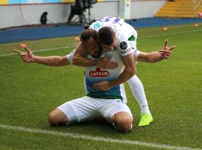 Spor Toto Süper Lig: Çaykur Rizespor: 1 - İstiklal Mobilya Kayserispor: 0 (İlk y