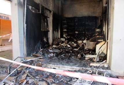 Beşikdüzü'ndeki yangının gaz sıkışmasından kaynaklanan cam patlaması olduğu açık