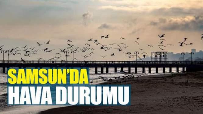 10 Mart Pazar Samsun'da hava durumu