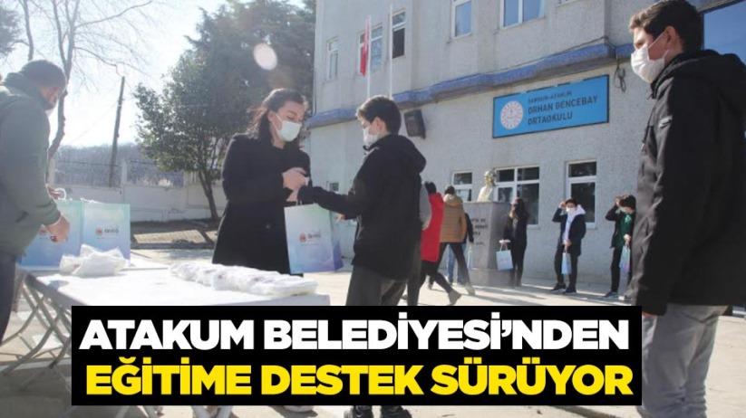 Atakum Belediyesinden eğitime destek sürüyor