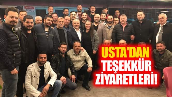 Usta'dan teşekkür ziyaretleri!