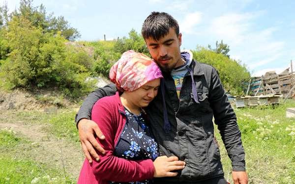 Samsun'da Minik Ecrin'in ailesi umutla bekliyor