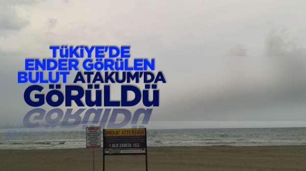 Türkiye'de ender görülen bulut Samsun'da görüldü