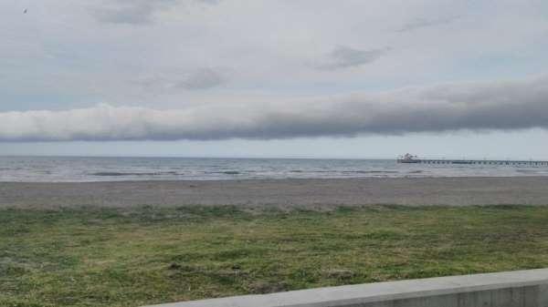 Samsun'da rulo bulutu