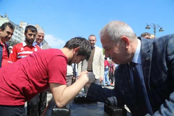 İlkadım Belediye Başkanı Demirtaş 'Engellilerin destekçisi olacağım'