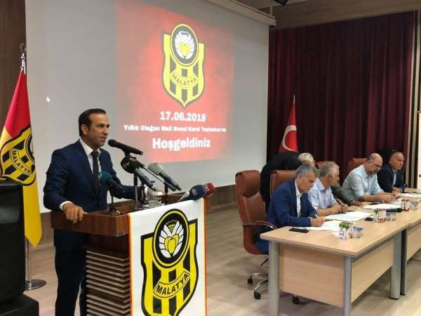 Evkur Yeni Malatyaspor'da olağan mali genel kurul 19 Mayıs'ta