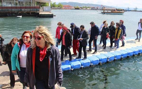 Türkiye'nin ilk yelken gemisi Samsun'a geliyor