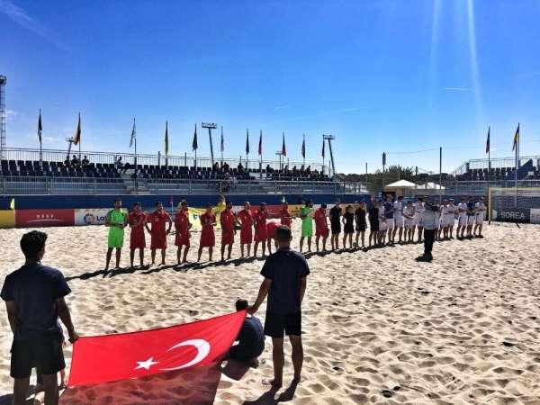 Plaj Futbolu Milli Takımı, Çekya'yı 5-1 yendi