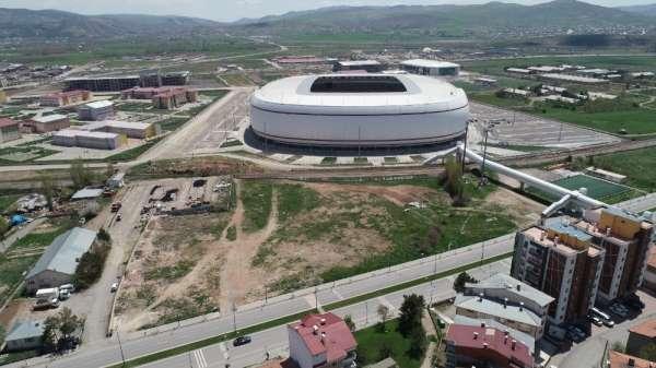 Sivas'ta Kupa Maçı Hazırlıkları